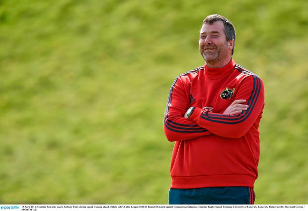 Loss: Anthony Foley