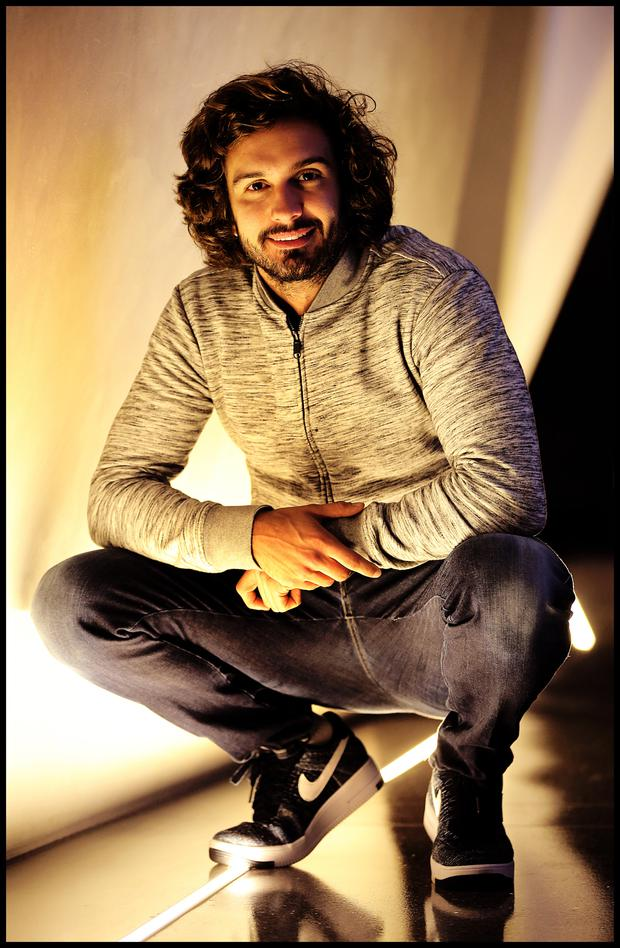 Meet the coach: Joe Wicks pictured at Grand Canal Dock. Photo: Steve Humphreys