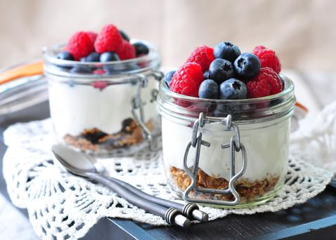 Yoghurt - rich in magnesium