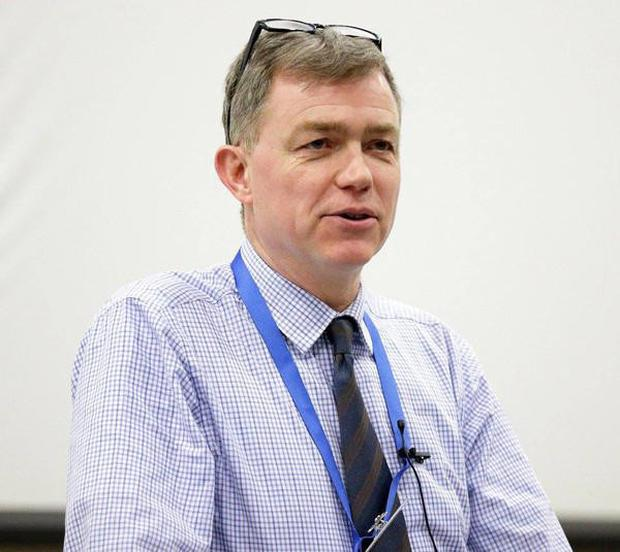 Neurologist Colin Doherty