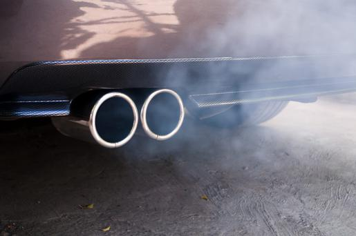 Air pollution, especially from traffic, has been linked to an increased risk of heart and artery disease. Stock Image