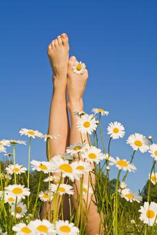 Take steps to revive those tired feet