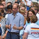 Hair to the throne: Prince William has embraced his baldness