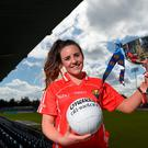 Cork player and PE teacher Orlagh Farmer. Photo: Paul Mohan / Sportsfile