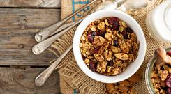 Homemade Fruity Nutty Muesli