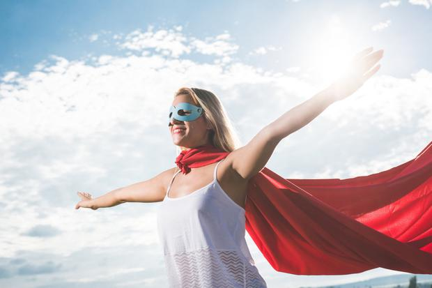 Be your own superhero by focusing on your good traits