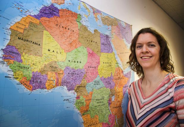Ireland's Ambassador to Sierra Leone, Sinead Walsh pictured at The Department of Foreign Affairs.