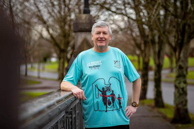 Patrick Kiely from Waterford went from struggling up the stairs to running marathons. Picture: Dylan Vaughan