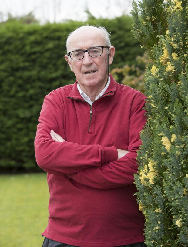 Tom says he lives in the now and has a great quality of life at the age of 72. Pic: Liam Burke/Press 22