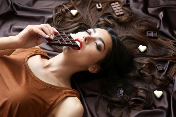 Many chocolates have the perfect mix of sugar, fat and salt to keep us coming back for more