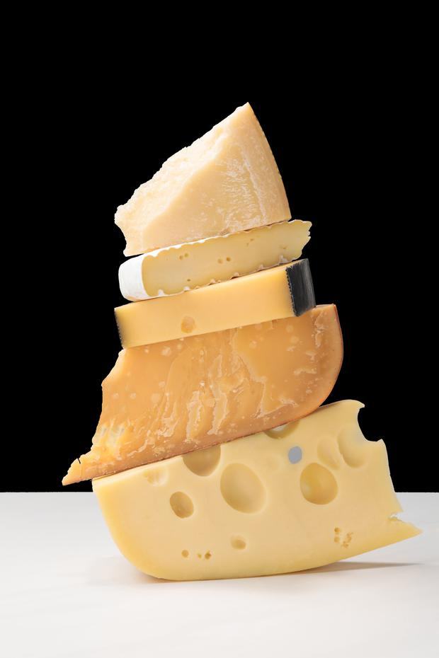 Cheesy does it: You can now enjoy your cheese, but in moderation