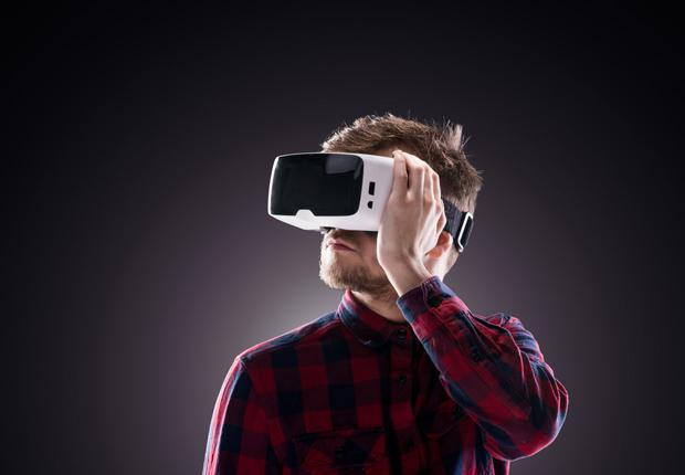The 'Engage' platform can be used in schools, universities, and corporate training to teach subjects in a virtual reality environment. Stock photo