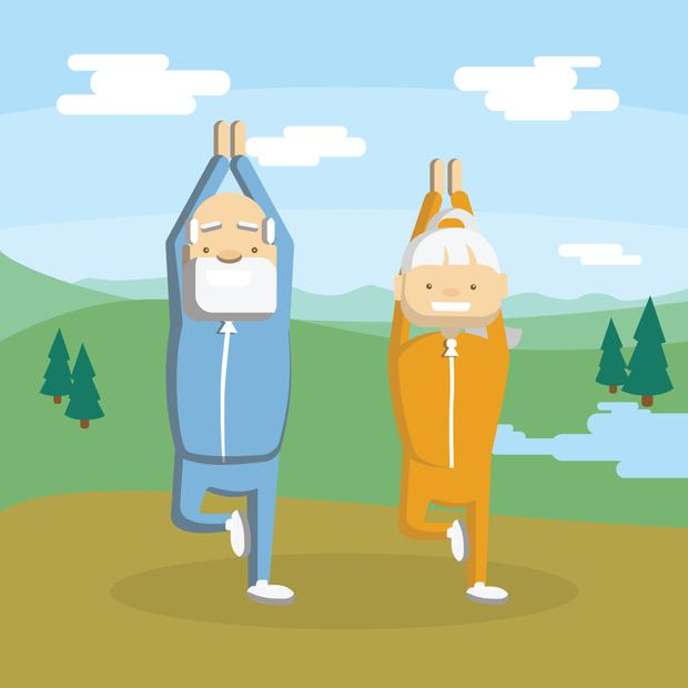 Keep active as you age