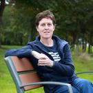 Sinead McCarville who has battled breast cancer, pictured near her home in Dublin. Picture: Frank McGrath