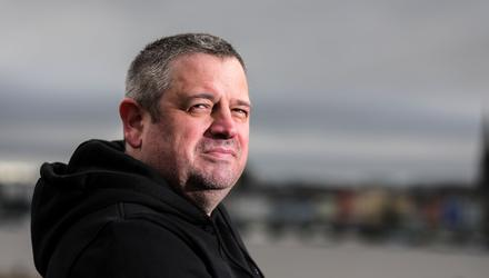 Former gambling addict Tony O'Reilly now helps to run a support service for people affected by gambling. Photo: Gerry Mooney.