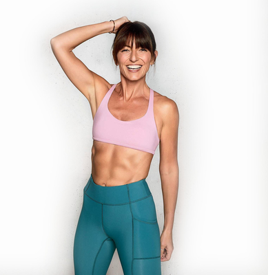 Davina McCall swam the channel in her 40s and became a qualified personal trainer at 50