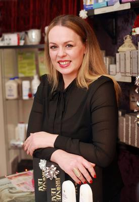Joanne Regan owns three beauty salons and finds it difficult to cope at times