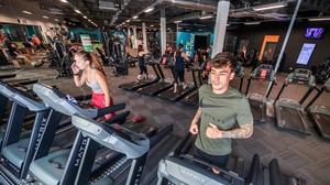 Someone who sits for seven hours a day should spend either 21 minutes of that day in the gym or 84 minutes in less intense exercise. Photo: PA