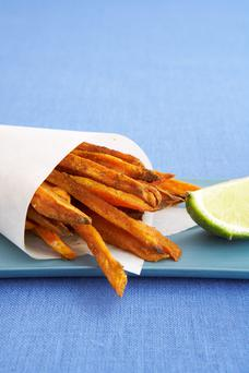 Sweet potatoes are a super source of slow-release carbs