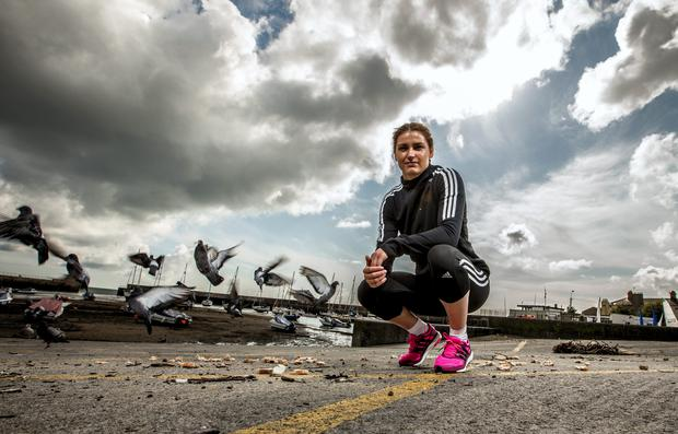 Olympic boxer Katie Taylor