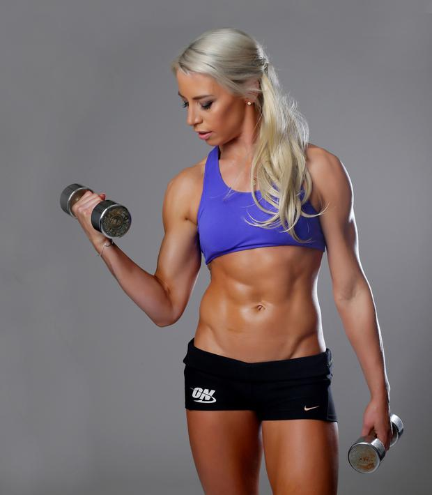 Jenni Murphy TRX Trainer /personal trainer and online coach photographed at Loft53 Pic: Marc O'Sullivan