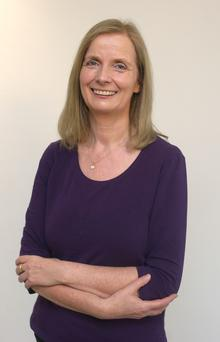 Dr Claire Hayes, a consultant psychologist and clinical director with mental health charity Aware. Photo: Damien Eagers