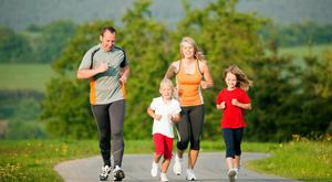 Perfect fit: Families can walk, run or jog the GOAL Mile, a great way to get everyone moving at Christmas time