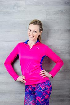 Siobhan Byrne says you plan your exercise and eating regime, and be realistic
