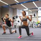 Pumping iron: Fitness fans are increasingly using sports supplements in a bid to improve performance. Photo posed