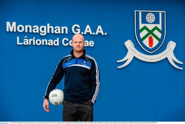 Monaghan footballer Dick Clerkin who feared he had taken a banned substance in a supplement