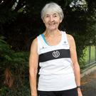 Ann Woodlock from Inchicore at the Donore Harriers running ground. Photo: Tony Gavin