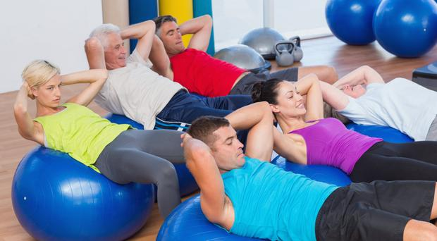 Strength in numbers: Having a social group who exercise can be a boost for healthy ageing. Stock Image