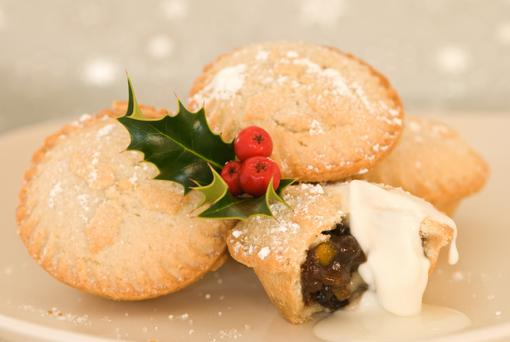 Sales of both Christmas puddings and mince pies are up strongly on last year
