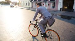 Wheel-good factor: Cycling to work is great for your health and wallet