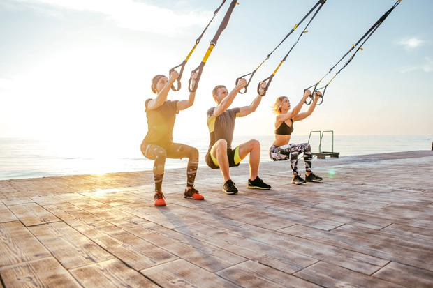 Resistance training can be part of a HIIT workout