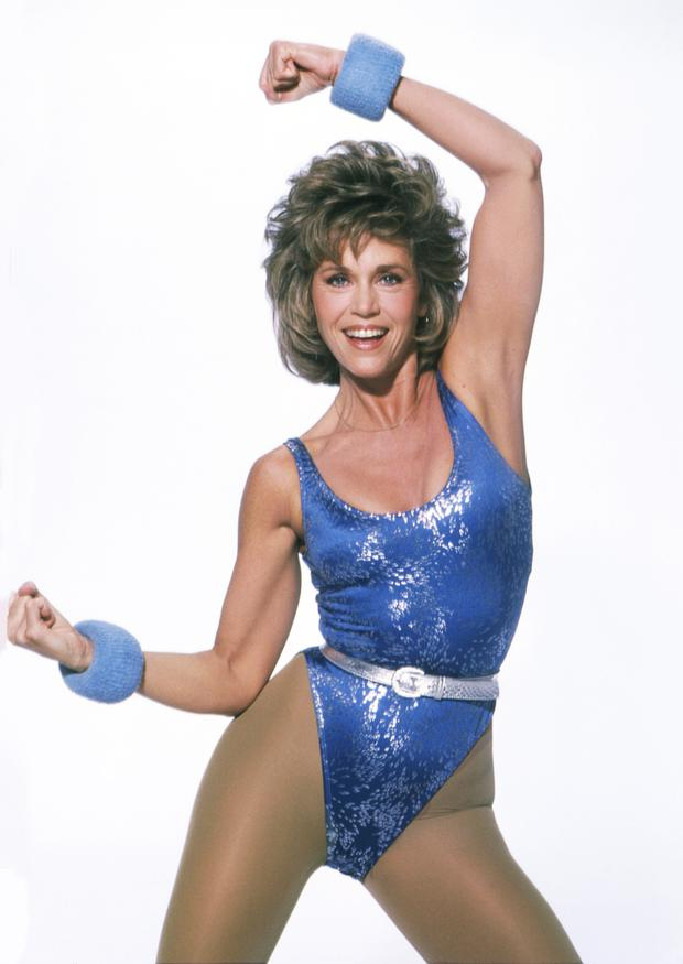 Home fitness guru Jane Fonda