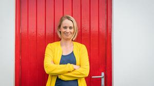 Derval O'Rourke combines being a mum with running a thriving business. Picture by Joleen Cronin
