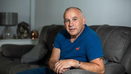 Gerard Tracey who is suffering from MND. Photo: Mark Condren