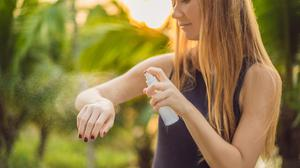 Wear insect repellent with a high level of DEET