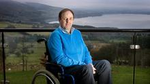 Martin Daly at home in Co. Wicklow. Photo: Tony Gavin