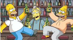 SUCK IT UP LIKE YOU'RE IRISH: We baulk at the 'drunken Irish' stereotype. We complain when British politicians refer to it, and we went nuts when we were lampooned on 'The Simpsons'