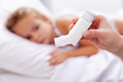 Rates of childhood asthma have increased rapidly in the last 50 years.