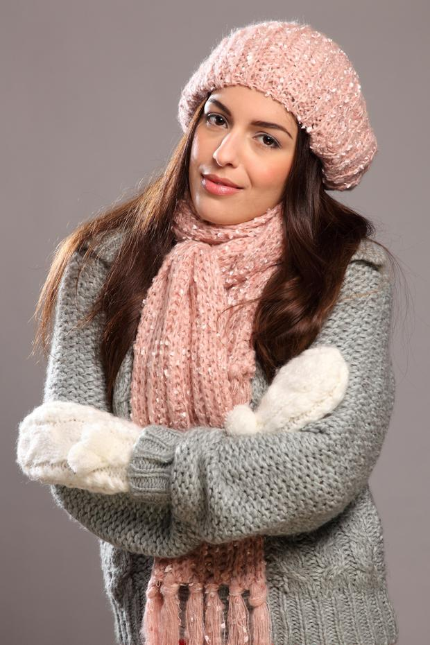 If Urticaria is made worse by exposure to the cold then try to wrap up well before heading outside.