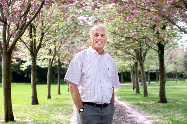 Dentist Frank Dillon has come up with a novel approach to treating hay fever. Photo: Tony Gavin.
