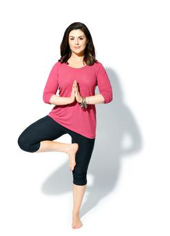 Yoga is not just a passion for Síle Seoige; it has become her way of life. Photo: Marc O'Sullivan