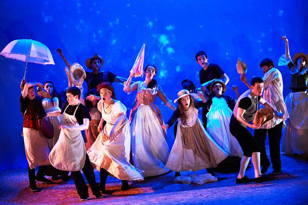 Song and dance routine: Performing with Youth Theatre of Ireland