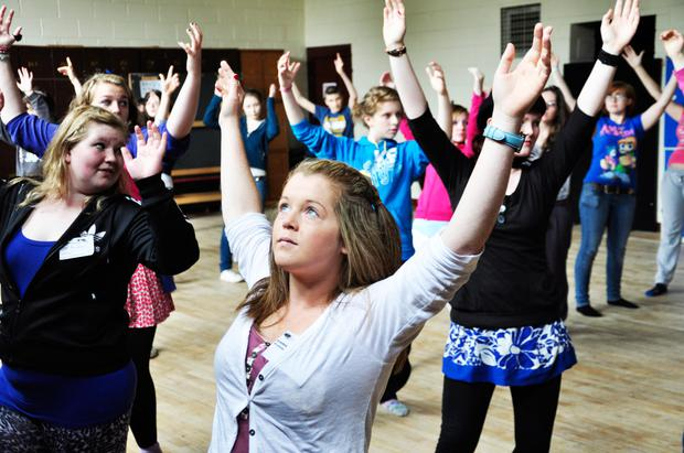 Building confidence: Rehearsals with Youth Theatre Ireland