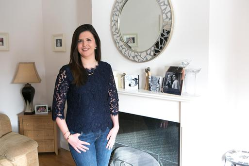 Lifestyle choice: Mother and part-time stylist/reseller Emma Mullane at home in Mungret, Co Limerick. Photo: Brian Gavin/Press 22