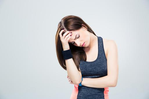 Strenuous exercise can bring on headaches