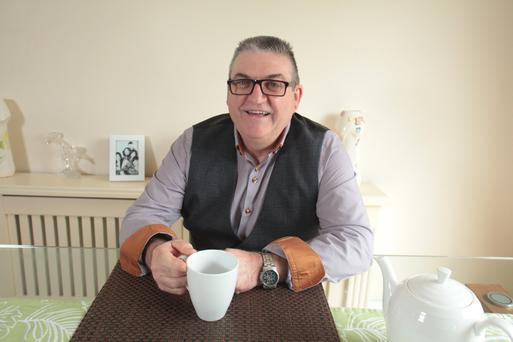 Face of new campaign: Michael Clancy is urging us to host 'Drink Tea' events to raise funds